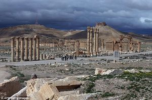 L'EI affirme avoir tué des soldats russes et syriens ainsi que des combattants du Hezbollah à Palmyre (AFP)