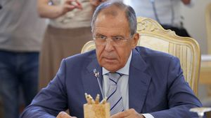 Lavrov : Les terroristes entre en Syrie depuis les frontières turques (Irib)