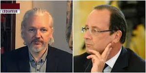 Julien Assange : &quot&#x3B;François Hollande est une escroquerie&quot&#x3B; (vidéo)