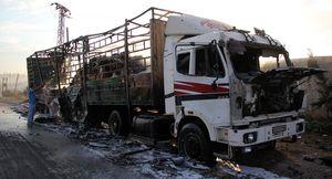 Convoi humanitaire onusien bombardé à Alep: plusieurs victimes (Sputniknews)