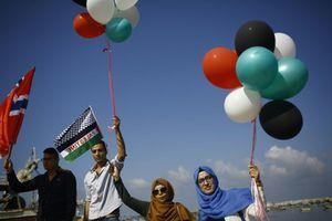 La marine israélienne intercepte le &quot&#x3B;bateau des femmes&quot&#x3B; qui se dirigeait vers Gaza (AFP)
