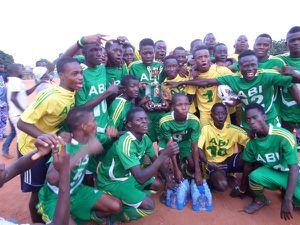 Tournoi international des centres de formation de Football, 6e Édition : ABI Sport du Benin sur le podium