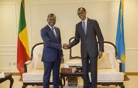 Patrice Talon et Paul Kagamé