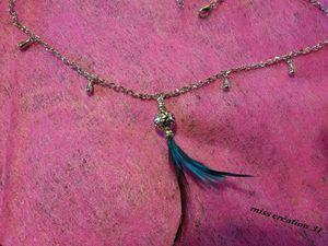 la plume turquoise