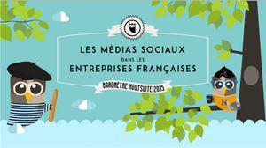 Infographie : les médias sociaux en entreprise en 2015