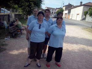 CHAMPIONNAT DEPARTEMENTAL DES CLUBS FEMININ