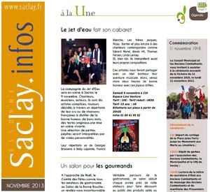 Le Saclay infos de novembre 2013