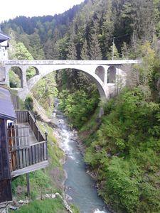 Le pont de Flumet