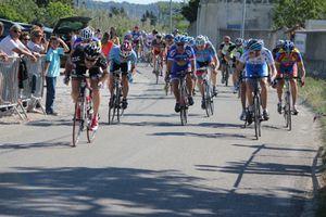 3 eme course cycliste à Istres