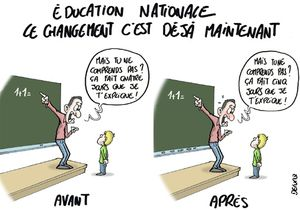 Lettre d'une maman au Ministre de l'Education Nationale