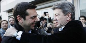 Européennes : la liste Tsipras en retard d'une guerre sur l'euro !