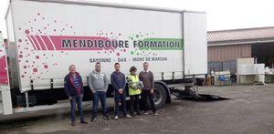 Mendiboure Formation participe à des actions de solidarité internationale