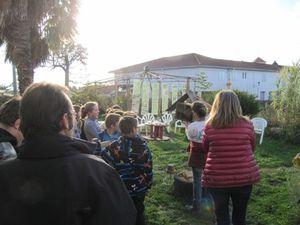 L'école d'Hastingues au jardin du trocoeur d'AIMA