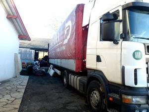 Le 50ème camion d'AIMA part pour Rasas Perles et une association de mal voyants de Liepaja