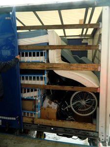 L'ARASFEC et AIMA envoient un camion de matériel médicalisé en Roumanie