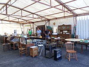Une journée déstockage à la recyclerie Le Hangar du Trocoeur