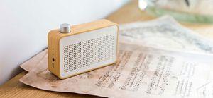 Test - Enceinte Emie Vintage En Bois Bluetooth avec Radio