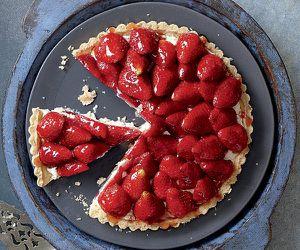 FASHION ROUND - Tarte aux fraises