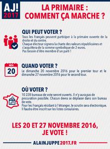 Infographie sur les Primaires lR
