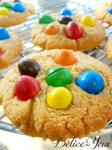 Cookies m&m's ® & Beurre de cacahuètes