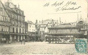 Un grand magasin à Reims en 1874