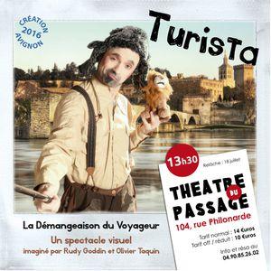 Des critiques très positives de Turista en Avignon