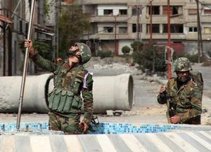SYRIE  S'empare d'une ville clé au Nord de Damas.