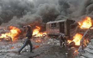 Kiev : Big Brother envoie des textos d'intimidation aux manifestants