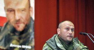 Dmitri Yarosh, maintenant conseiller du Ministre de la Défense ukrainien