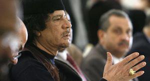 Mouammar Kadhafi,