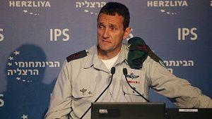 , le chef du renseignement militaire israélien le Major général Herzi Halevy
