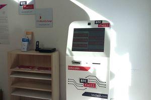 Un distributeur de bitcoins à Montpellier © Sylvie Brouillet