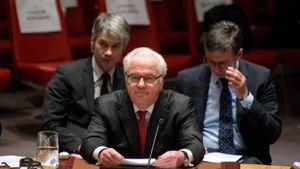 """Conflit en Syrie - L'ambassadeur russe quitte la réunion du Conseil de sécurité """"insulté"""" - © Belga"""