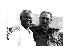 1ère visite de Mandela en temps que chef d'état