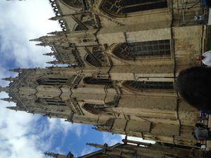 la cathédrale de York : gigantesque