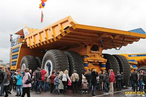 New Solutions : BELAZ 75710 - The biggest dump truck in the World designed with 3D CAD/CAM systems : Be 3D !