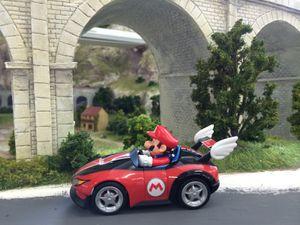 Mario et Peach font la course chez Mini World Lyon