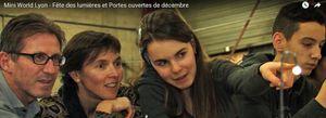 Reportage &quot&#x3B;Mini illuminations&quot&#x3B; et &quot&#x3B;Portes ouvertes&quot&#x3B; 12/2015