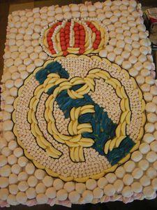 Gâteau de bonbons Real Madrid
