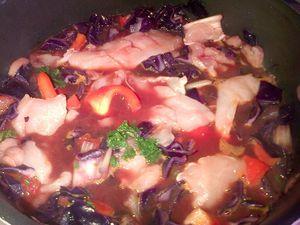 Casserole de poulet aux légumes