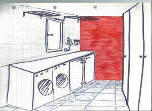 Idée déco : l'arrière cuisine