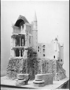 La Cité de l'architecture &amp&#x3B; du patrimoine lance une souscription pour la restauration de la maquette de la «Merveille» du Mont-Saint-Michel