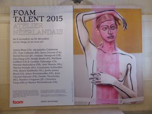 Foam Talent 2015 @atelierneerlandais. Paris en novembre, la semaine de la photographie