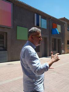 Bruno Peinado s'affiche à La Poste. MRAC Sérignan