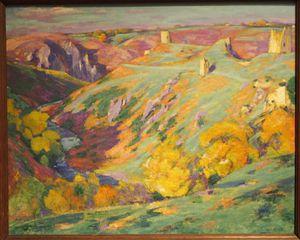 La vallée de la Creuse, vallée des peintres. Eugène Alluaud et Alfred Smith, Charles Bichet et Allan Österlind, entre Berry et Limousin (II)