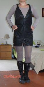 Une robe dans un pantalon cop copine