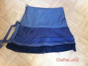 Une jupe avec des restes de tissu Cop...