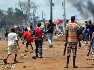 Des manifestations dans la ville de Boké.