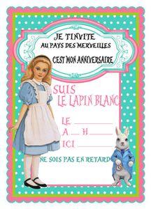 Thème &quot&#x3B;Alice au pays des Merveilles&quot&#x3B;