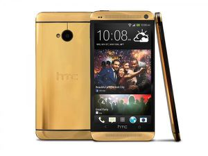 HTC One (M7) en or 24 carats